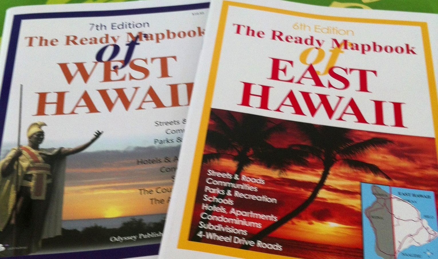 West and East Hawaii Mapbooks width=