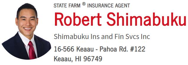 State Farm® Agent, Robert Shimabuku
