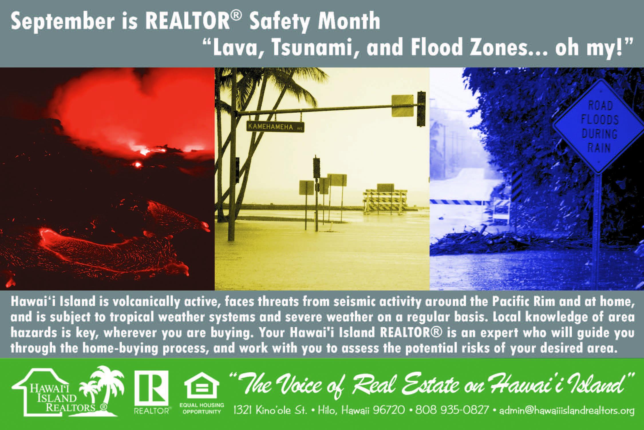 September is REALTOR® Safety Month